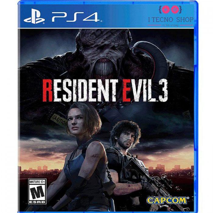 خرید بازی Resident Evil 3 Remake برای PS4