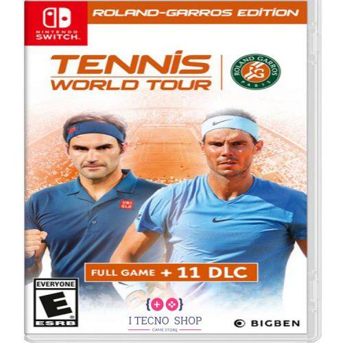 خرید بازی Tennis World Tour Roland Garros Edition برای نینتندو سوییچ