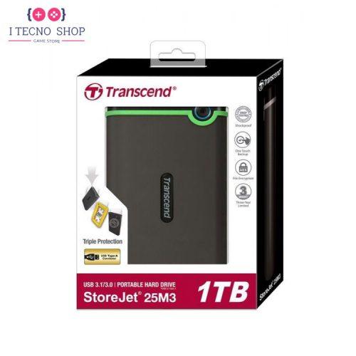 خرید هارد اکسترنال Transcend StoreJet 25M3 | یک ترابایت