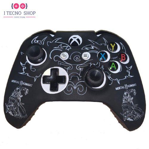 خرید Xbox One Controller cover - Mortal Kombat 11 - Black