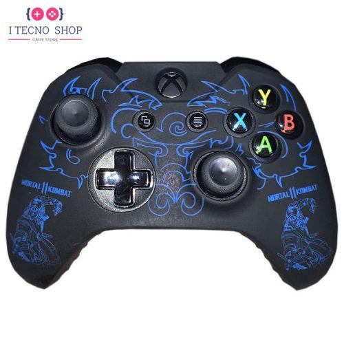 خرید Xbox One Controller cover - Mortal Kombat 11 Blue