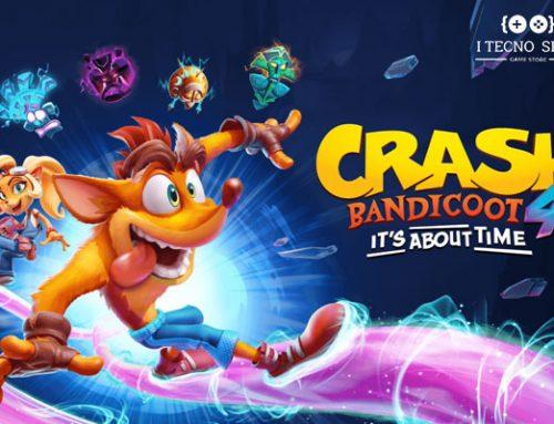 نگاهی به بازی Crash Bandicoot 4: It's About Time
