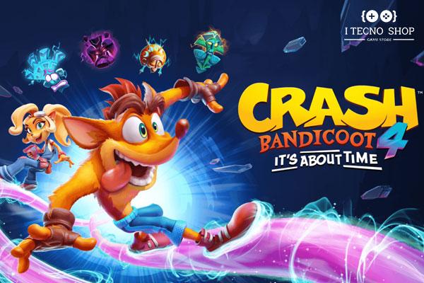 اطلاعات اولیه بازی crash bandicoot 4