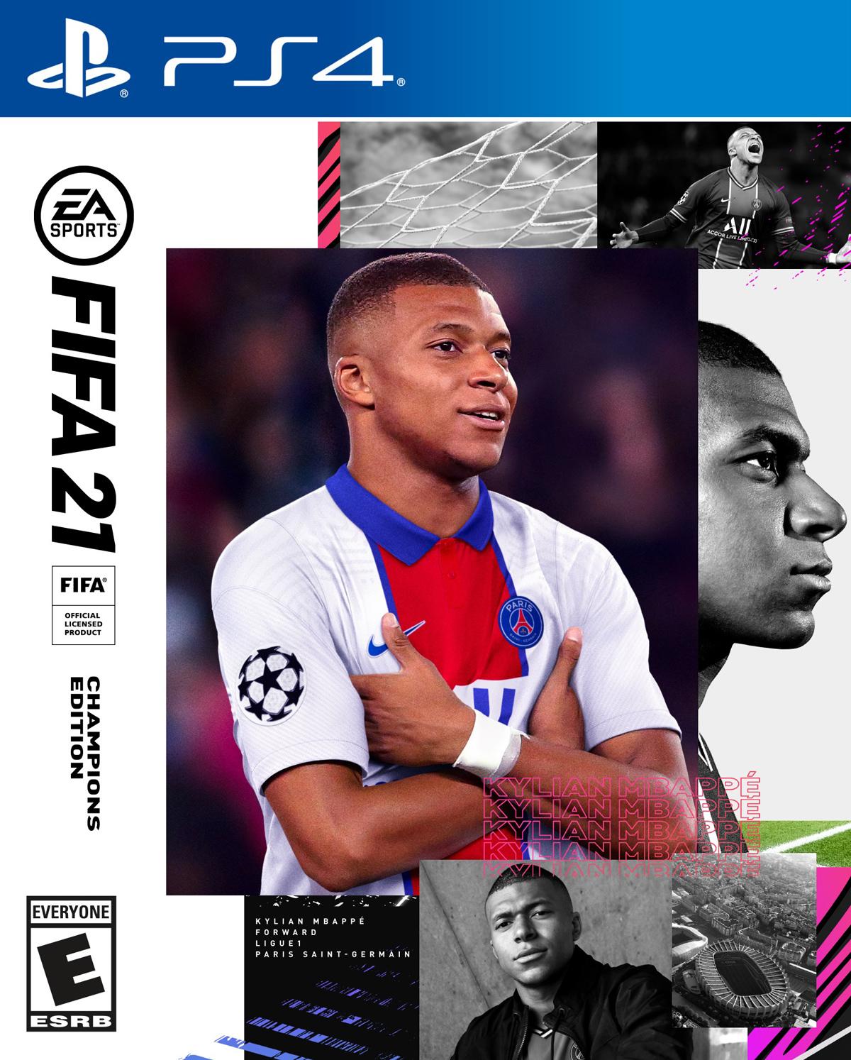 کاور نسخه چمپیونز بازی fifa 21