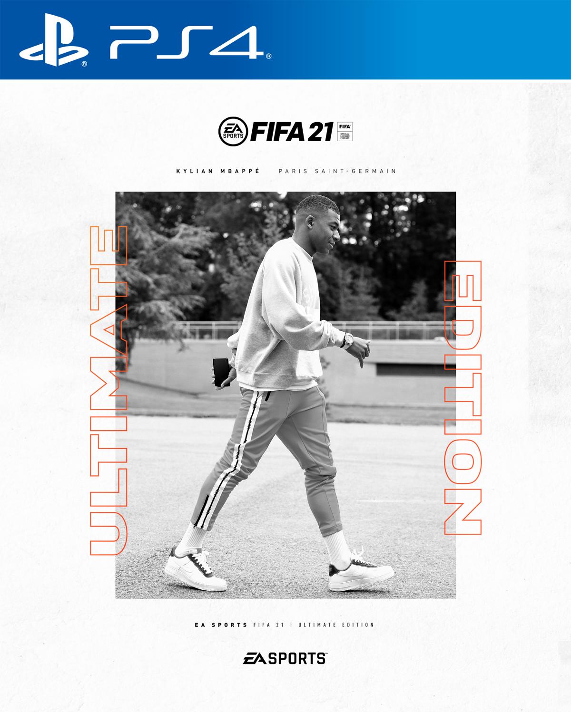 کاور نسخه آلتیمیت بازی fifa 21