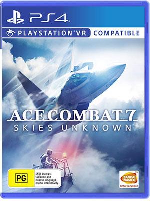 نصب بازی ace combat 7 کپی خور ps4