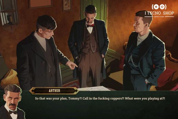نقد و بررسی بازی Peaky Blinders : Mastermind