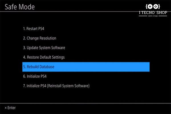 آموزش کامل ترفندهای ps4-پاکسازی فایل های بی مصرف