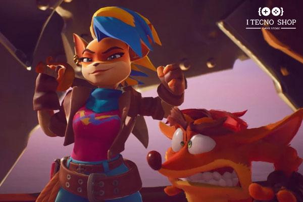 شخصیت تانا در Crash Bandicoot: It's About Time