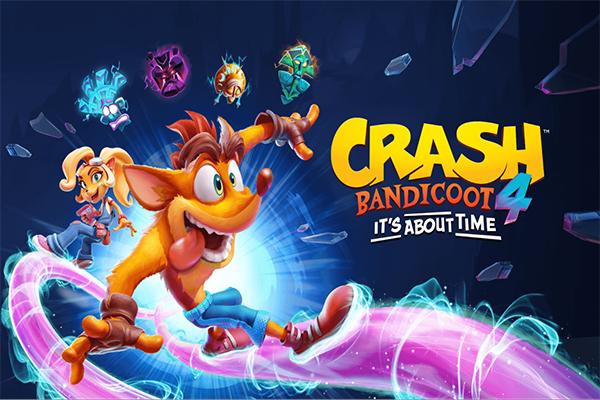 اجاره بازی crash bandicoote 4